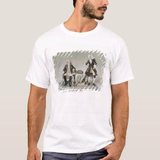 T-shirt Chiffre de porcelaine de Frederick II de la Prusse