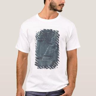 T-shirt Chiffre de soulagement de Dieu Shamash dictant des
