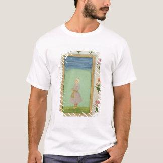T-shirt Chiffre debout d'un garçon avec un poignard orné