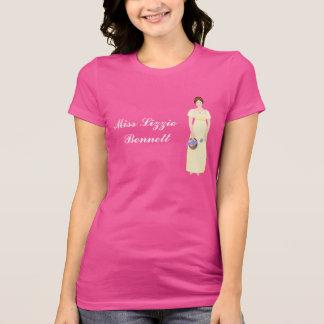 T-shirt Chiffre personnalisable d'Elizabeth Bennet dans la