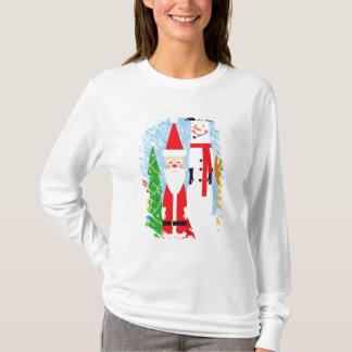 T-shirt Chiffres de Noël