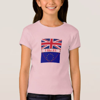 T-Shirt children I like Europe