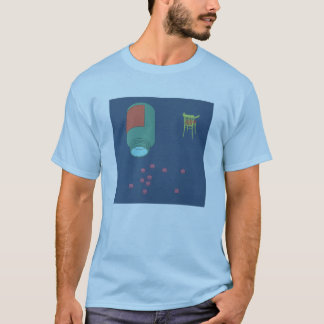 T-shirt chill pill bleu