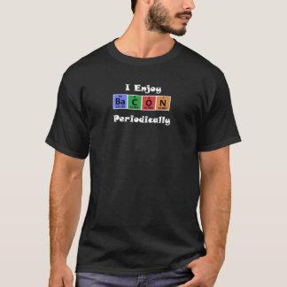 T-shirt Chimie de la Science de lard de Tableau périodique