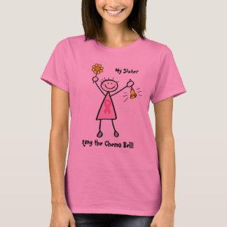 T-shirt Chimio Bell - cancer du sein rose de ruban