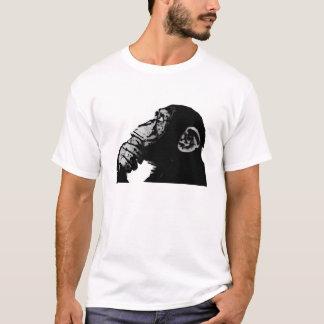 T-shirt Chimpanzé de pensée