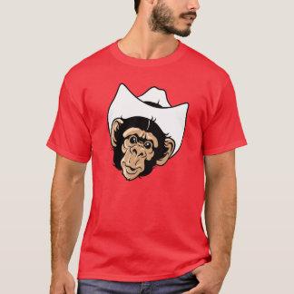 T-shirt Chimpanzé de whiskey