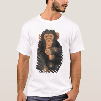 T-shirt Chimpanzé (troglodytes de casserole)