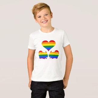 T-shirt Chinchilla d'arc-en-ciel