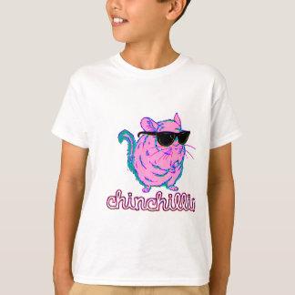 T-shirt Chinchilla rose au néon de Chinchillin