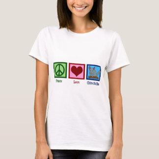 T-shirt Chinchillas d'amour de paix