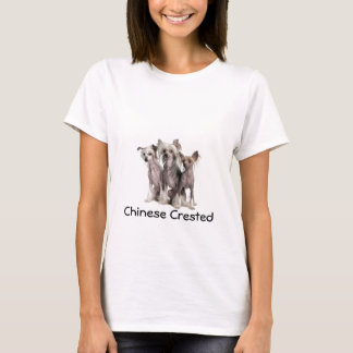 T-shirt Chinois Crested