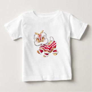 T-shirt chinois de bébé de dragon de nouvelle