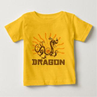 T-shirt chinois de dragon de zodiaque de dragon