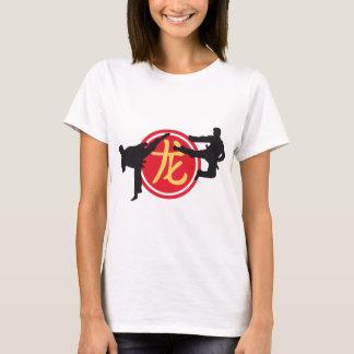 T-shirt Chinois Sign Dragon carat A 3c