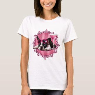 T-shirt Chiot de bouledogue français