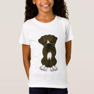 T-Shirt Chiot de chien de boxeur