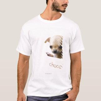 T-shirt Chiot de chiwawa dans la cuvette (cultivée)