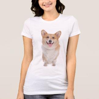 T-shirt Chiot de corgi de Gallois de Pembroke