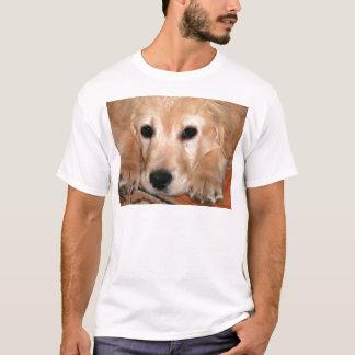 T-shirt Chiot de golden retriever