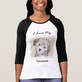 T-shirt Chiot de Havanese