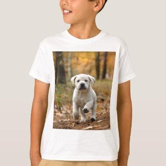 T-shirt Chiot de labrador retriever
