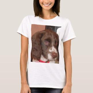 T-shirt Chiot de lw d'English_Springer_Spaniel