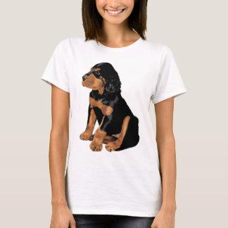 T-shirt Chiot de poseur de Gordon