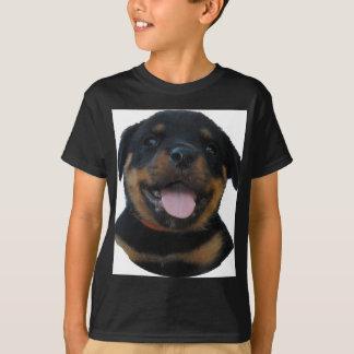 T-shirt chiot de rottweiler
