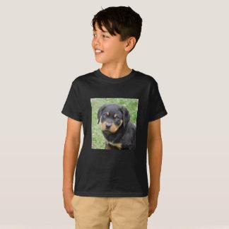 T-shirt Chiot de rottweiler de McDogface de chienchien