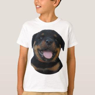 T-shirt chiot de rotweiler