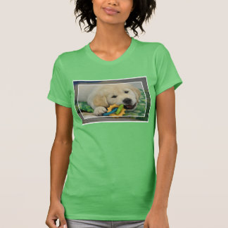 T-shirt Chiot doux