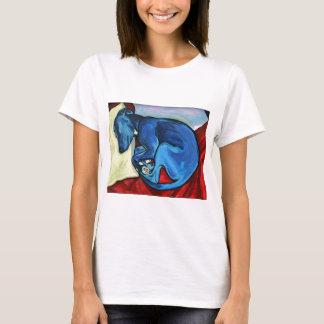 """T-shirt """"Chiot du whippet des bleus layette"""