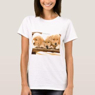 T-shirt Chiots ! - Bébé de dames - poupée