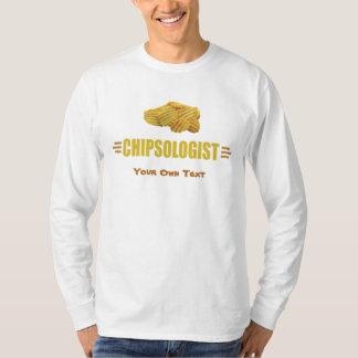 T-shirt CHIPSOLOGIST - Pommes chips humoristiques