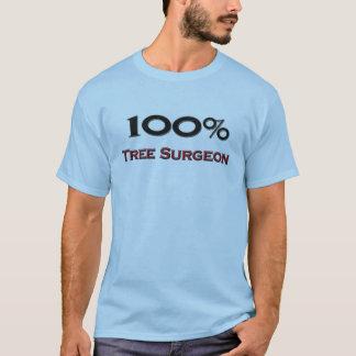 T-shirt Chirurgien d'arbre de 100 pour cent