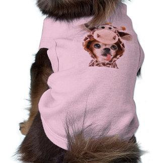 T-shirt Chiwawa rose de Halloween de débardeur de