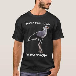 T-shirt Chocobo (secrétaire oiseau) - pour l'obscurité