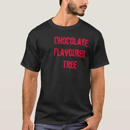 T-shirt Chocolate Flavoured Tree