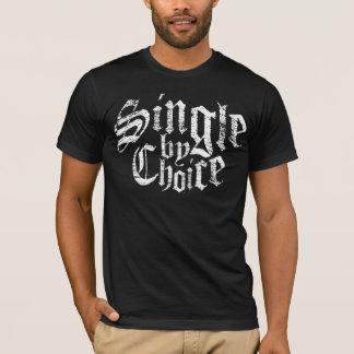 T-shirt Choisissez par l'encre blanche bien choisie