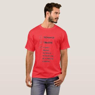 T-shirt Choisissez-pris moi obtiennent au sujet autant