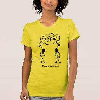 T-shirt Choisissez sagement