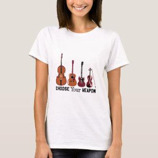 T-shirt Choisissez votre arme