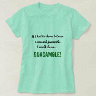 T-shirt Choix idiot entre un homme et une chemise de