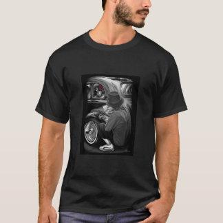 T-shirt cholo de vieille école