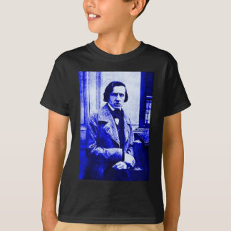 T-shirt Chopin bleu