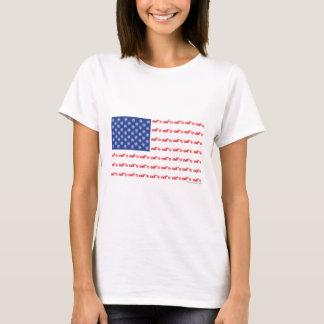 T-shirt CHOPPER-FLAG- [converti]