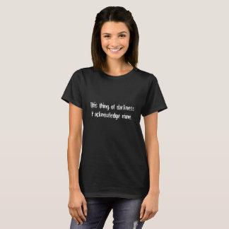 T-shirt Chose de chemise drôle de Shakespeare de