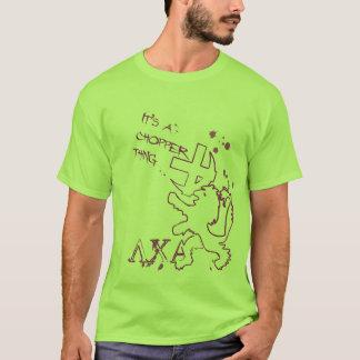T-shirt Chose de Choper !