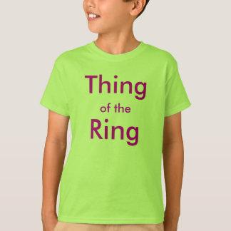 T-shirt Chose de l'anneau